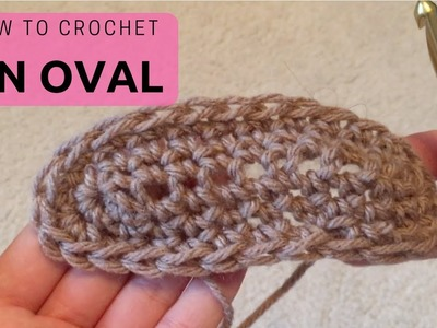 Lesson 10: How to Crochet an Oval