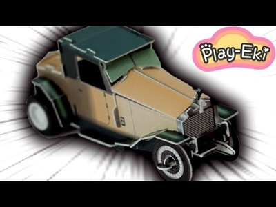 Unboxing & Assembling 3D Paper Car Toy for Kids and Children DIY????Tutorial???? Funny Video For kids