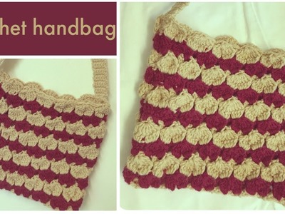 Unique design Crochet handbag - English version