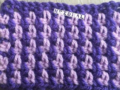Very Easy Crochet Linen Stitch Tutorial in Tamil