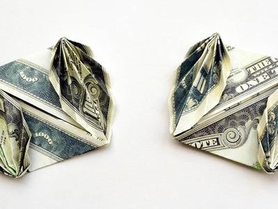 Wonderful Square Mini ENVELOPE | Money Origami Dollar Tutorial DIY (NProkuda)