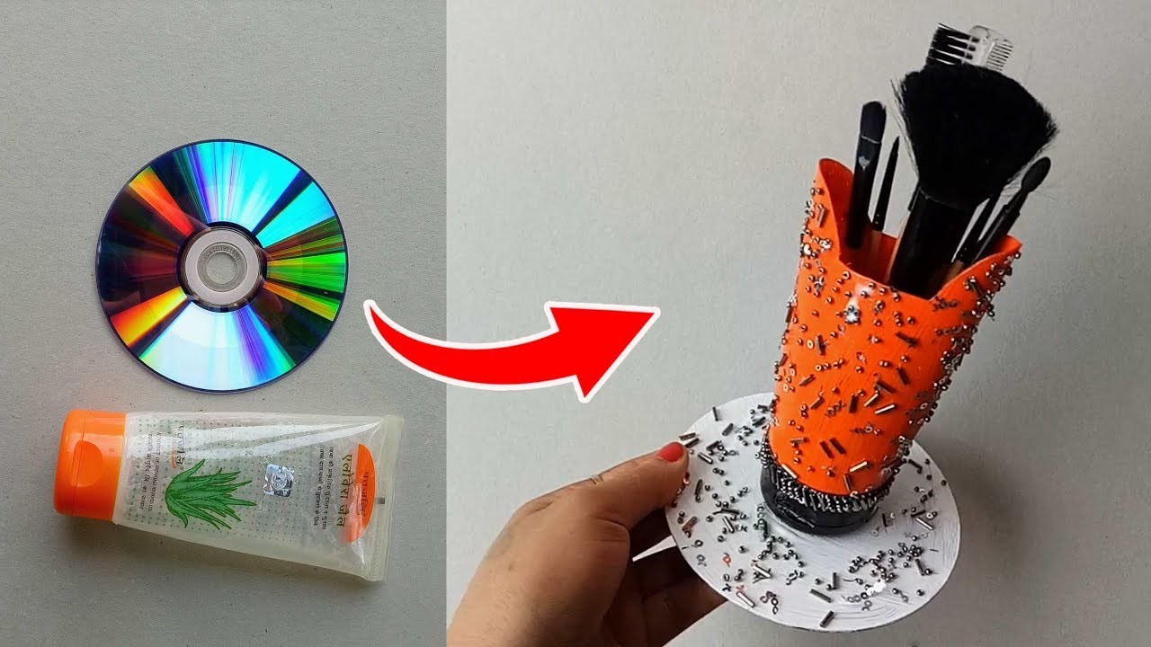how to make a desk organizer out of paper