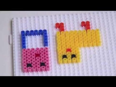 "Hama Beads - How To Create Things Using ""HAMA BEADS"" (DIY-TUTORIAL) PART 3"