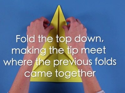 How to Fold the Perfect Paper Airplane