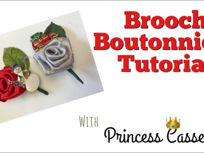 How to make a brooch boutonniere (2018)