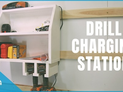 How to make a Drill Charger Station