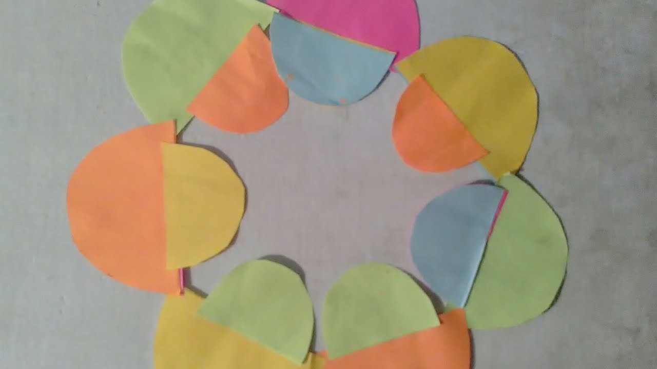 How To Make A Paper Flower In Hindi By World Craft