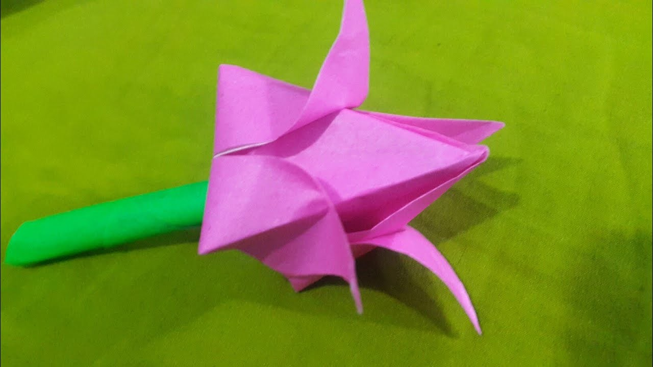 Flower How To Make A Paper Flower Mister Maker How To Make A