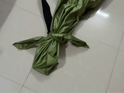 How to make a simple guitar bag