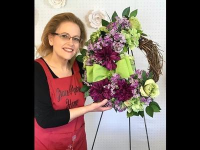 How to Make a Wreath - Grapevine Wreath Tutorial