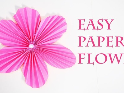 How diy stickers the easiest wayno wax paper diy stickers the how to make easy round paper flowers easy to make flowers mightylinksfo
