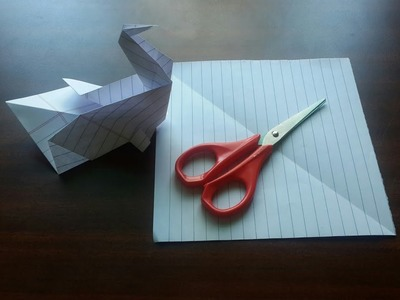 HOW TO MAKE PAPER PEACOCK. SUPER EASY.