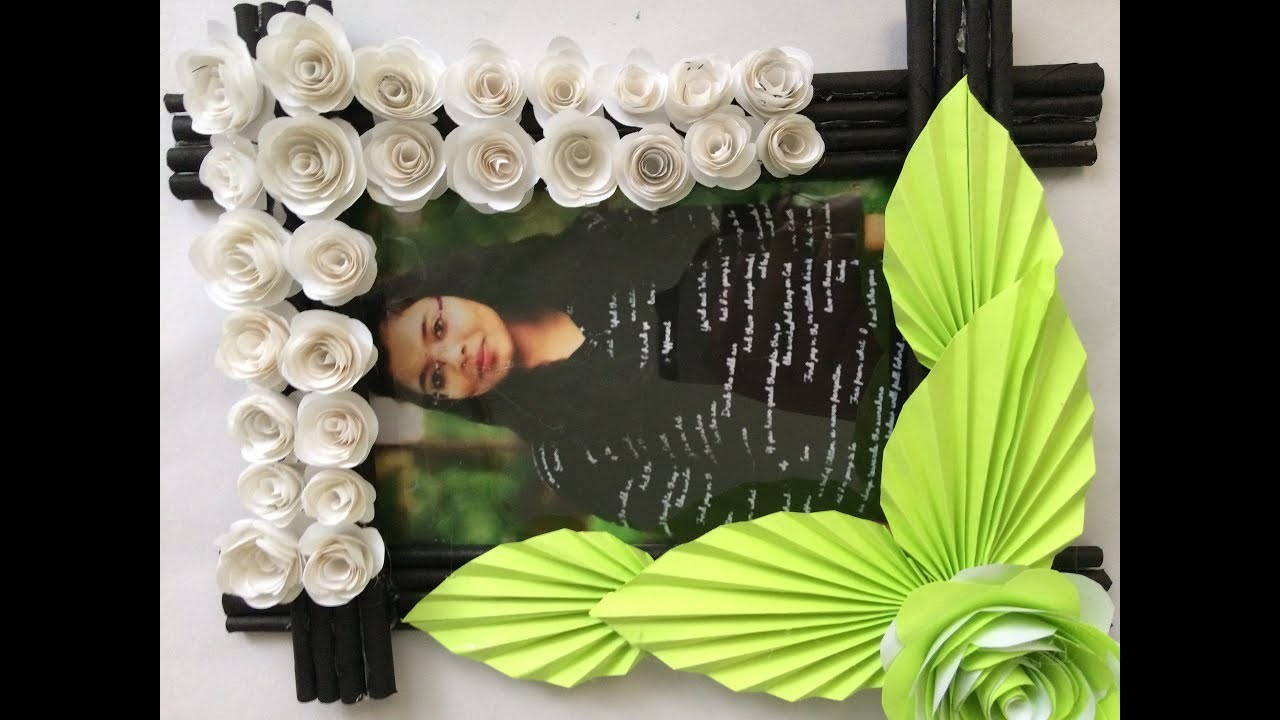 How To Make Photo Frame || Easy & Simple || DIY || V & N Creations