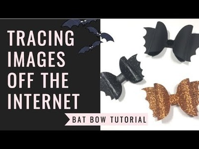 How to trace an internet image on your silhouette cameo- TUTORIAL