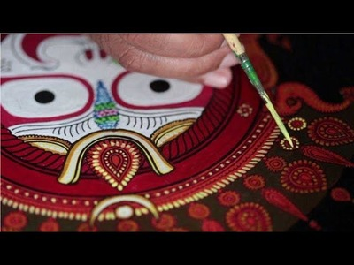 #jagannathart How to fill colours in black and white sketch of Lord Jagannath inside neelachakra |