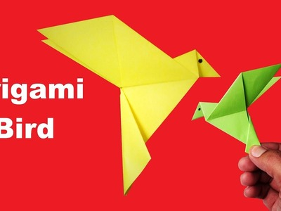 Easy Origami Bird How To Make An Origami Bird How To Make A Paper