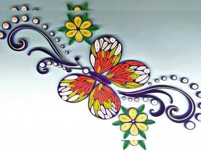 Quilling paper quilling flowers how to make butterfly quilling paper quilling flowers how to make butterfly quilling mightylinksfo