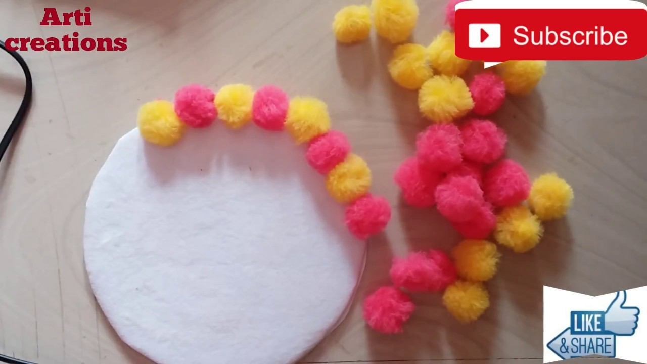 Wall Decoration Ideas No 2 How To Decorate Bedroom Wall With Pom