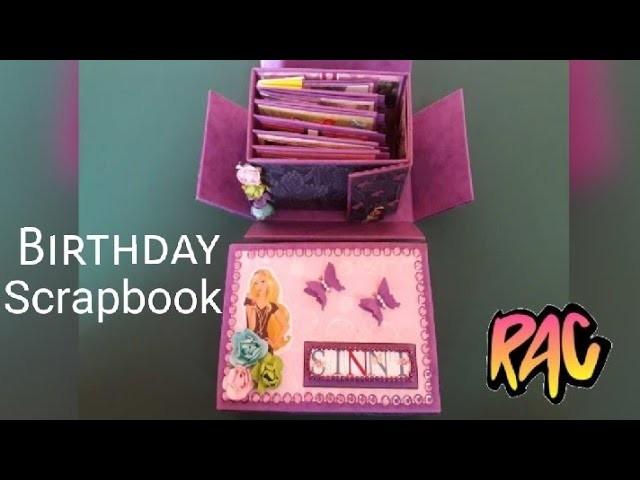 DIY BIRTHDAY SCRAPBOOKPHOTO ALBUM IDEAGIFT IDEABEST GIFTFRIENDSISTER WIFEHUSBANDBROTHERLOVE