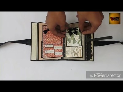 DIY | Mini Scrapbook | Quality World |