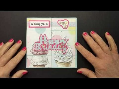 Diy Never Ending Birthday Card Keeps opening Learn how to make it!