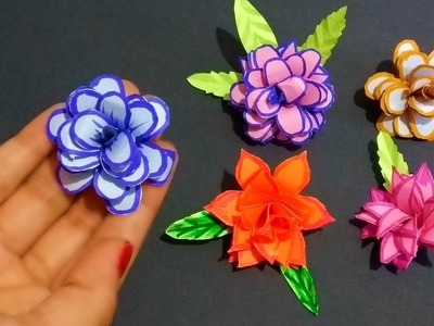 DIY project How to make a tiny Rose Paper Rose||Shree Arts