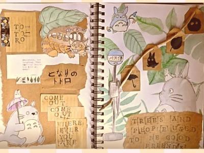 DIY Totoro Scrapbook - Studio Ghibli Craft ????