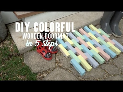 Home.Made: How to Create A Wooden Doormat in 5 steps I FYI & ScrewGlue