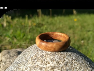How to make a wooden ring (EASY)