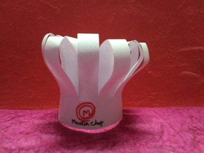 How to make MasterChef cap || DIY cooking cap from paper || creative dolphin
