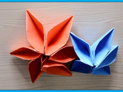 Origami flower vase origami how to make paper flower vase florero how to make paper flowers easy origami flowers for mightylinksfo