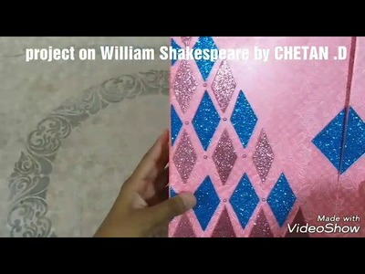 How to make Project on William Shakespeare