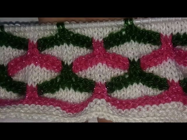 78b863054 Multi - colour Knitting design