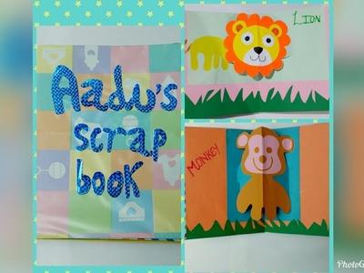 POP UP SCRAPBOOK FOR KIDS ! DIY PAPER CRAFT ! Scrapbook for my cute nephew (aadu) ????❤