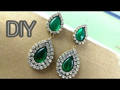 Teardrop Earrings Kaise Banaye Ghar par | How to Make Teardrop Paper Earring at Home