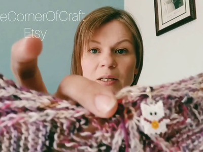 The Knitter Next Door, Knitting Podcast, Episode 1 : Spider Fingers and Kitten Farts