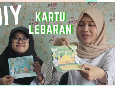 TUTORIAL KARTU LEBARAN POP-UP   #by Indaka Scrapbook