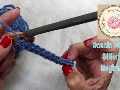 Crochet for Beginners: How to Double Crochet Stitch Tutorial