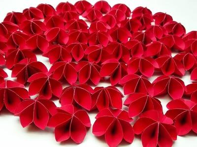 Flower kite paper flower crepe paper flower easy paper flowers diy make very easy simple paper flower mightylinksfo