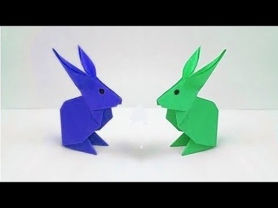 How to make a paper Rabbit ???? paper crafts