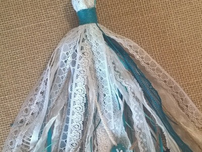 How to Make an Elegant Lace & Jute Tassel