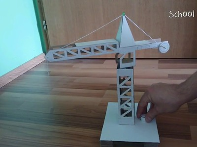 How to Make Crane from Cardboard