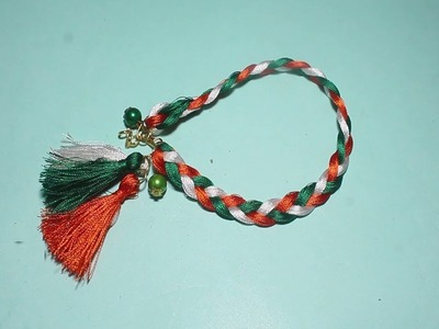 How To Make Handmade Bracelet Patriotic Tassel Bracelet Latest. Fashion Designs