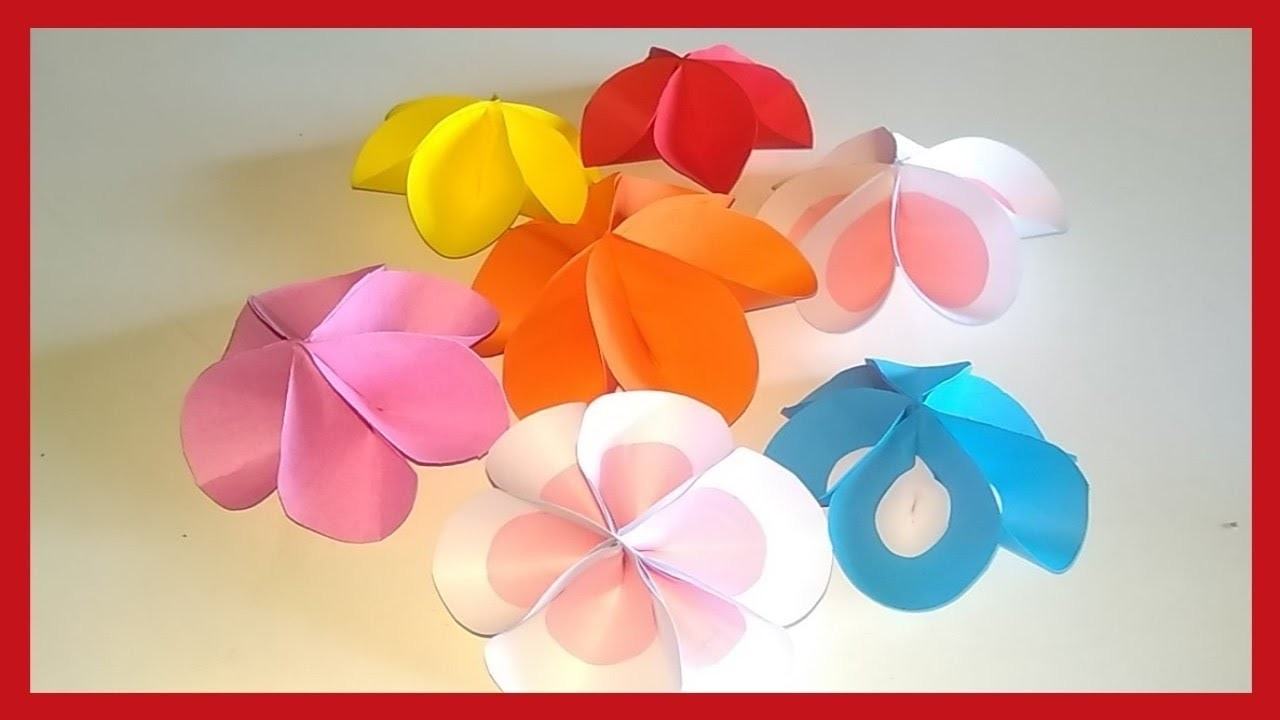 How To Make Paper Flowers Easy Step By Step Origami 2 Types