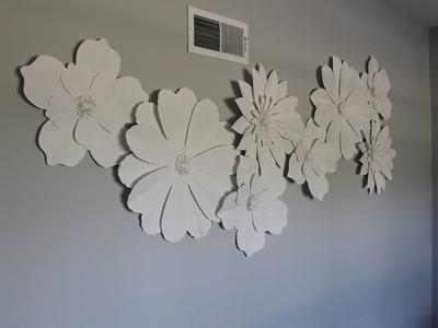 Paper Flower DIY Decor 2 WAYS!