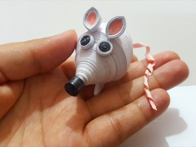 Paper Quilling: Unbelievable Mouse made from paper