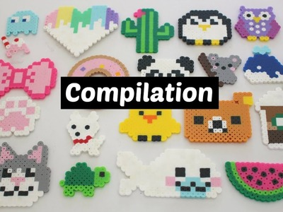 Perler Bead DIY Compilation | 20 Designs