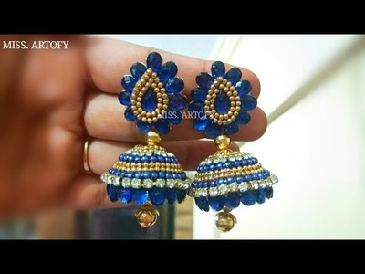 DIY Bridal Kundan Jhumka | Easy and beautiful by Miss. Artofy