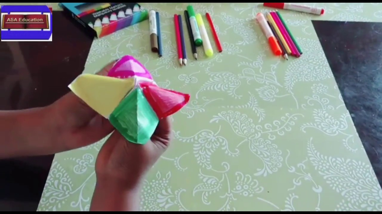 Diy How To Make Fortune Teller And How To Play It