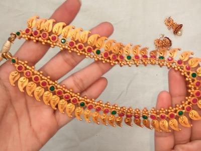 DIY | Matt jewelry making for beginners | matt jewellery | matt jewellery kit| Nandri arts & craft